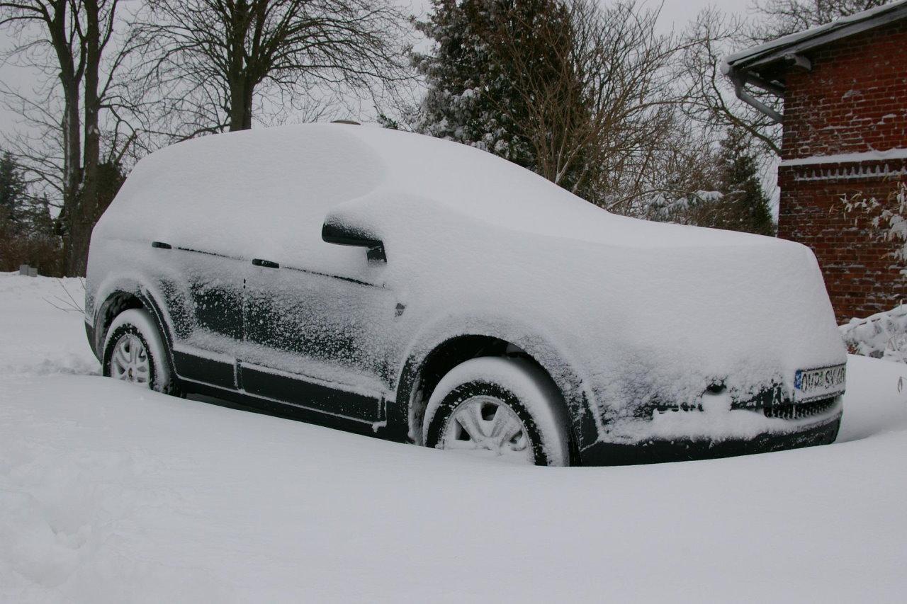 Garażowanie samochodu zimą – dlaczego warto?